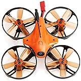 LANCHI Bluebird 85S 5.8G 700TVL 1104 7500KV Motor F3 FC Micro FPV Racing Drone,Nacome (Orange A)