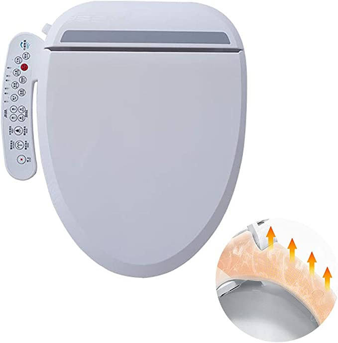 Purette Bidet Smart Toilet Seat Air Dry Water Spray Seat Heater the Classic