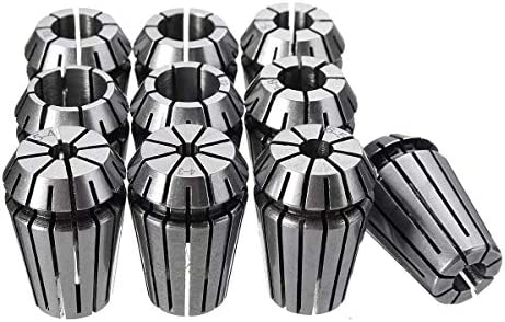SSY-YU CNCフライス盤彫刻旋盤ツール旋盤アクセサリーのための春のコレットチャックセット10個入りER20 4〜13ミリメートル 旋盤アクセサリ 電動工具パーツ
