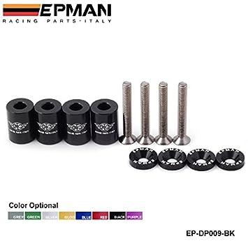 """epman 1 """"Billet capucha Vent Espaciador Riser Kits para todos turbo/ Motor/"""