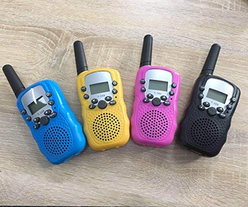 4Pack Kids Rechargeable Walkie Talkie Girls Boys Long Range Two Way Radio 22 Channel LED Flashlight Marine Cruise FRS Camping Accessories Toys Hiking Family Games Outdoor Holiday Birthday Gifts by iGeeKid (Image #6)