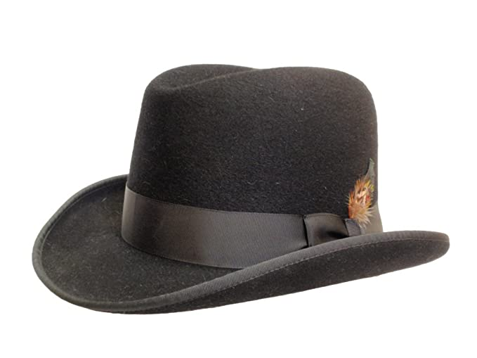 1940s Style Mens Hats  Mens Homburg Hat  $375.00 AT vintagedancer.com