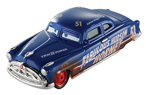 Disney Pixar Cars 3 Dirt Track Fabulous Hudson Hornet Die-Cast Vehicle ()