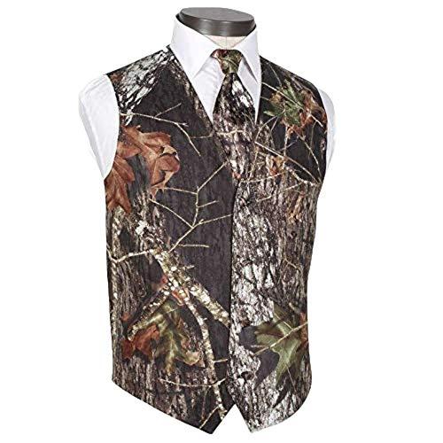 Airtailors Men's British Style Slim Fit Camouflage Wedding Vest (US 48) ()