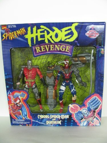 Spider-Man Heroes Revenge Deathlok / Cyborg Spider-Man Boxed ...