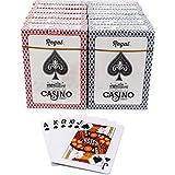 Regal Games Casino Standard Poker Size Playing Cards (Set of 12 Decks)