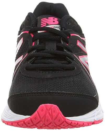 New Balance W390Bp2, Women's Running Shoes Black (Black/Pink)