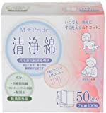 Japan Health and Personal Care - M-Pride clean cotton two ¡Á 50 follicles *AF27*