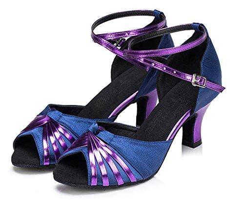 Heel Moderno e Viola 35 Donna EU Joymod Jazz 6cm Purple MGM gPq877