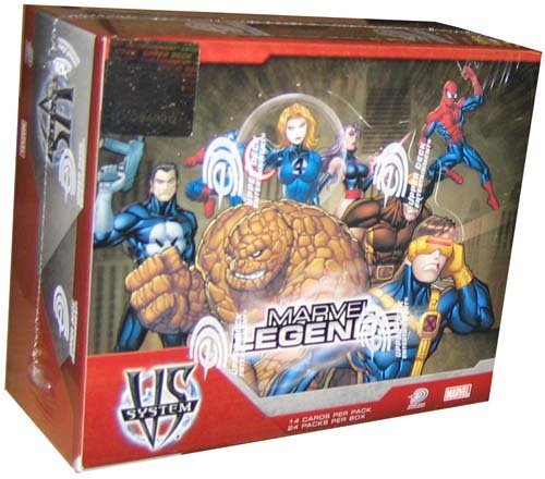 (Marvel VS System Trading Card Game Marvel Legends Booster Box 24 Packs)