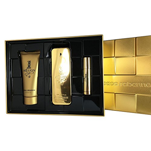 Paco Rabanne 1 Million Gift Set for Men, 3.4 Ounce - Edp Spray Miniature