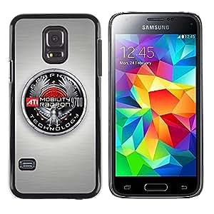 "For Samsung Galaxy S5 Mini ( NOT for regular S5 ) , S-type Insignia Gráficos"" - Arte & diseño plástico duro Fundas Cover Cubre Hard Case Cover"
