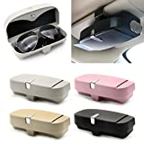 EA-Stone Glasses Holders Box for Car Sun Visor,Car Glasses Box Glasses Organize Case (Black)