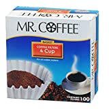 Mr.Coffee JR100 4-Cup Coffee Filters, 100-Count