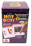 ETA hand2mind, Hot Dots Grade 2, Standards-Based Science Review Cards, With 6 Pens, (56722)