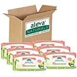 Aleva Naturals Bamboo Baby Sensitive Wipes, 432 Count