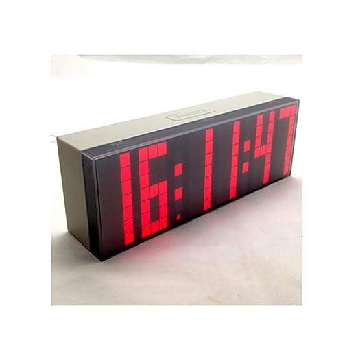 YOUDAN Reloj Despertador Digital 3D Reloj de Mesa Creativo para ...