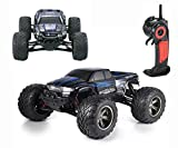 Picture Of CR 1/12 Full-Scale 2WD Remote Control Off Road Monster RC Truck 35MPH+ High Speed 2.4GHz Radio Controlled Waterproof Buggy Hobby Car RTR-Blue