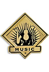 School Lapel Pin - Music