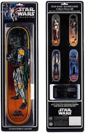 Amazon.com: Santa Cruz Star Wars Boba Fett - Tabla de skate ...
