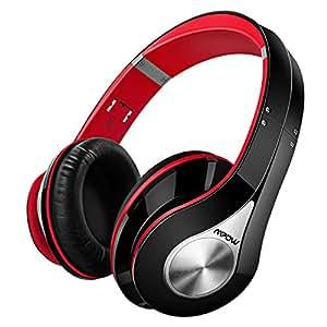 Mpow MPBH059AB - Auriculares Bluetooth de Diadema Inalámbricos, con Micrófono, Manos Libres y Hi-Fi Sonido Estéreo