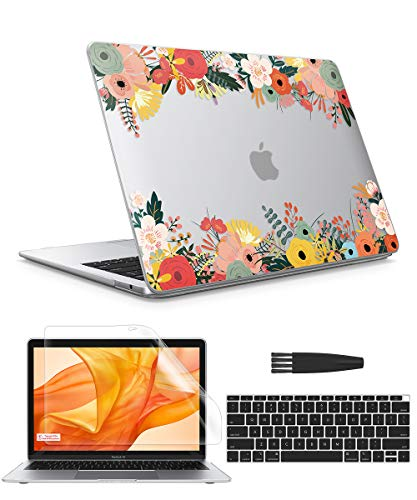 GVIEWIN Keyboard Protector Compatible Flowering