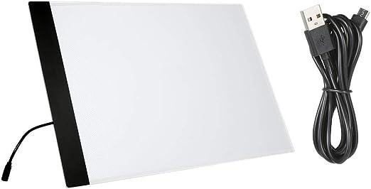 Mesa De Luz Dibujo A4 Led Escritura Pintura Caja De Luz Tablero De ...