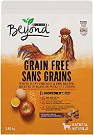 Beyond Grain Free Natural Dry Dog Food, White Meat Chicken & Egg 5.89 kg