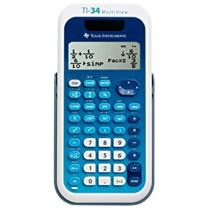 Texas Instruments (34MV/TBL/1L1) TI-34 MultiView Scientific Calculator