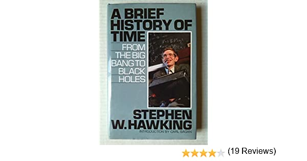 A Brief History of Time: From the Big Bang to Black Holes: Amazon.es: Stephen Hawking, Carl Sagan: Libros en idiomas extranjeros