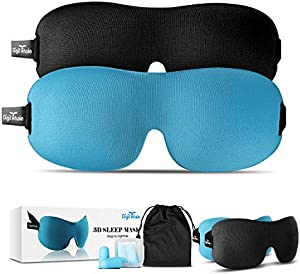 Sweepstakes: DIGITWHALE 3D Sleep Mask | Comfortable Memory Foam Eye Cover...