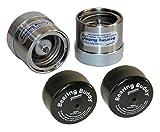 Bearing Buddy Stainless Steel Bearing Protectors (2.441'' Diameter) With Bras - Pair