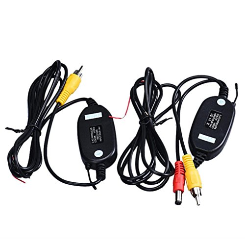 TAORE Wireless RCA Video Transmitter & Receiver Kit for Car Rear View Camera For Sale