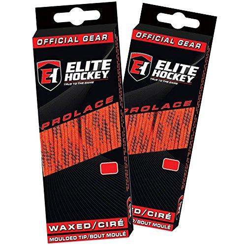 120 waxed ice hockey skate laces - 4