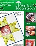2 X Printed Treasures Inkjet Printable Fabric, Sew-In, 5 sheets