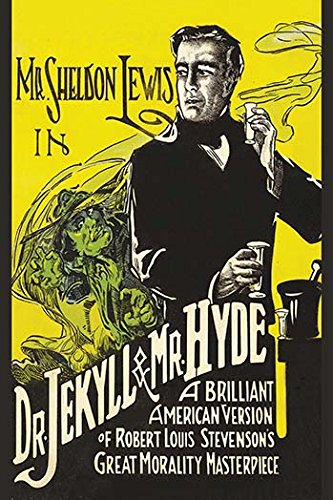 Buyenlarge Dr. Jekyll & Mr. Hyde Paper Poster, 18