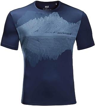 jack wolfskin t shirt blau xxl