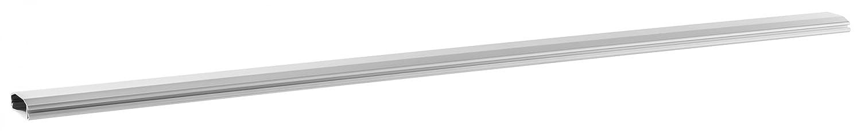 RICOO Coperchio per Cavi Cavo in Alluminio Design Z1110-S Ingresso con meccanismo a Binario a ribalta per TV a Parete per stoccaggio Scrivania ad Angolo Staffa a Parete Fogna Organizer Canale Argento