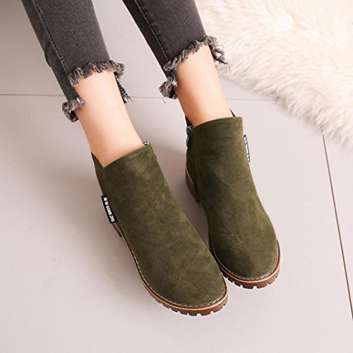 Casual Damen Herbst Khaki Green Martin 2 Martin UK 5 Stiefel Army Ankle Stiefel Winter Boots Ha5xYqwwS
