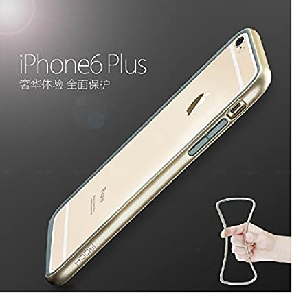 Rock Duplex Shockproof Bumper Case Cover for iphone 6 Plus - Gold   Amazon.in  Electronics c194652455