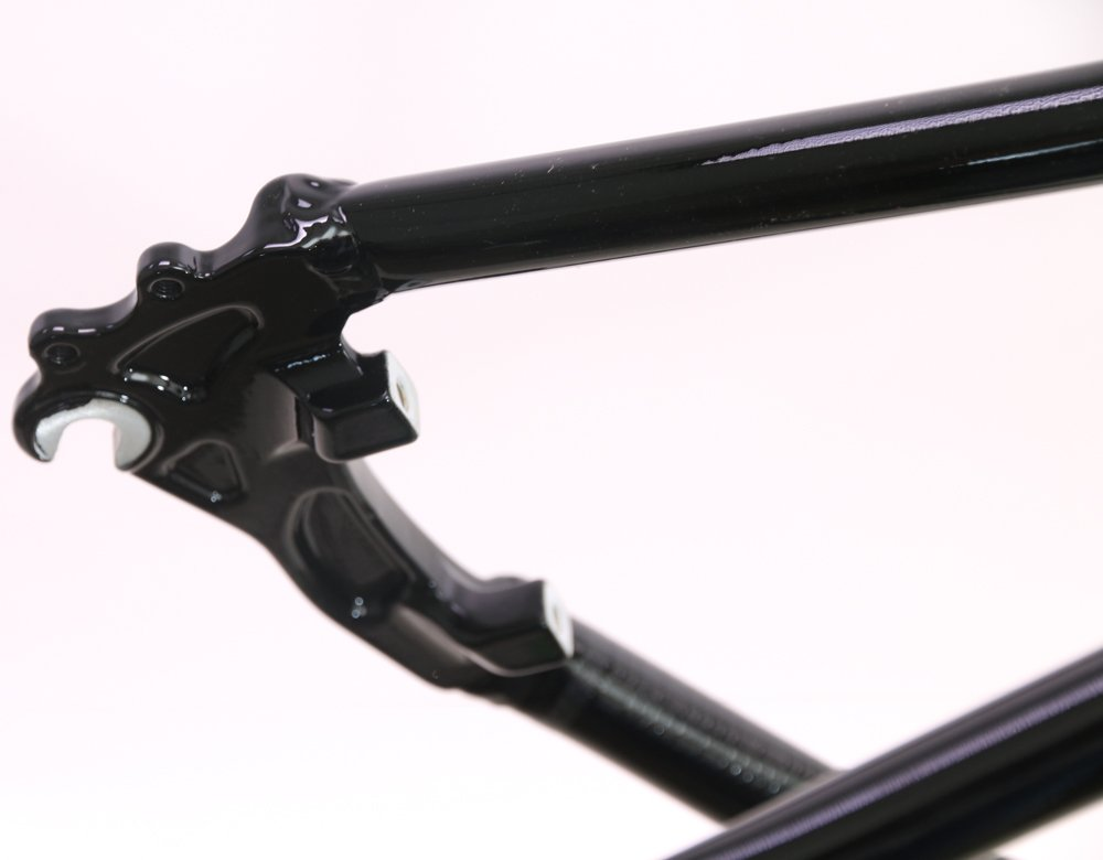 2013 MARIN 54cm Lombard 700c CX Cyclocross / Road Bike Disc Frame Black NEW by Marin (Image #4)