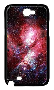 Samsung Galaxy Note II N7100 Cases & Covers - Dat Nebula Custom PC Soft Case Cover Protector for Samsung Galaxy Note II N7100 - Black