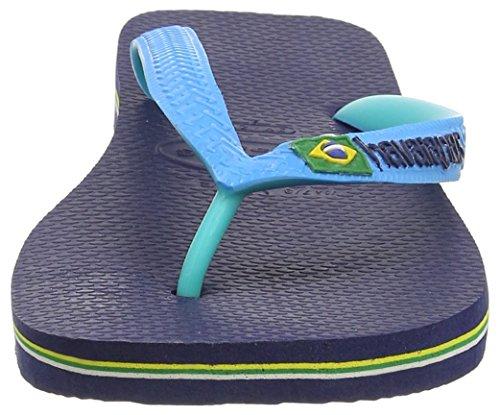 UCZ Havaianas Zehentrenner Damen/Herren Brasil Mix BRASIL MIX NAVY BLUE/TURQUOISE