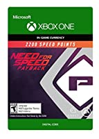 Need for Speed Payback: 2200 Speed Points - Xbox One [Digital Code]