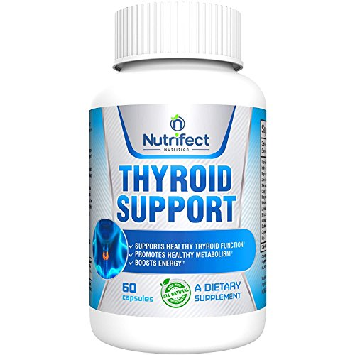 Nutrifect Nutrition Fresh Start Thyroid Support Supplement, Maximize Energy, Lose Weight, and Heighten Focus with Iodine, Bladderwrack, Kelp & B12, 60 Capsules