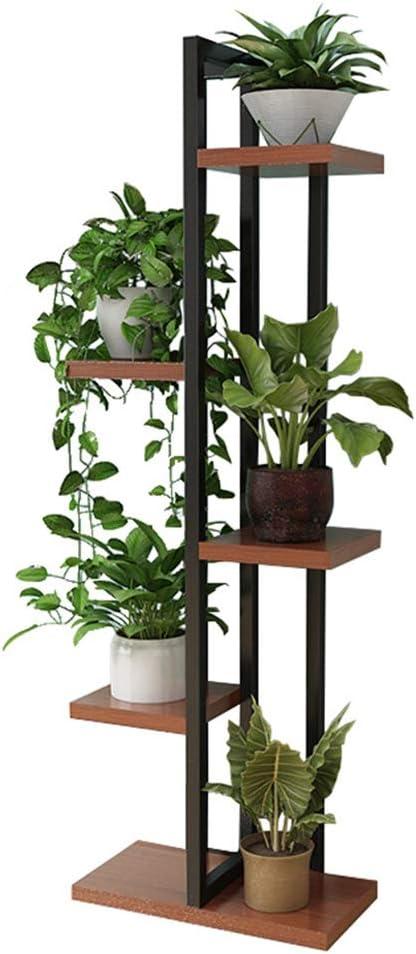 20cm Rustic Teak Wooden Plant Stand Flower Stand Plant Display Indoor Outdoor
