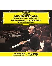 Mozart: Piano Concertos Nos. 20, 21, 25 & 27 (CD + Blu-ray)