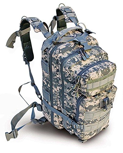 17″ Level 3 ACU Army Camo Tactical Military Style Assault Pack Backpack w/ Molle