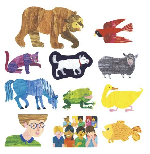 Little Folk Visuals LFF-229 Brown Bear Felt Figures For Flannel Board Stories -