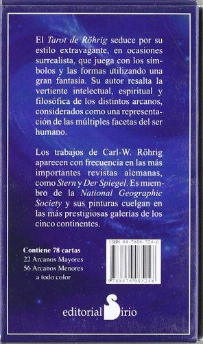 EL TAROT DE ROHRIG (CARTAS): ROHRIG CARL-W: 9788478085248 ...